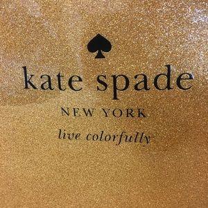 NWT 🏷 KATE SPADE ♠️ Gold Glitter Tote Bag